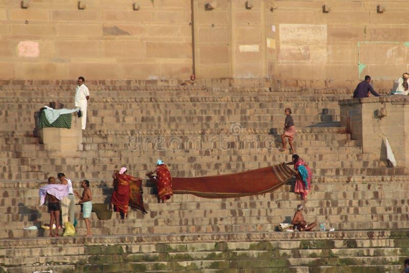 india varanasi royaltyfria foton