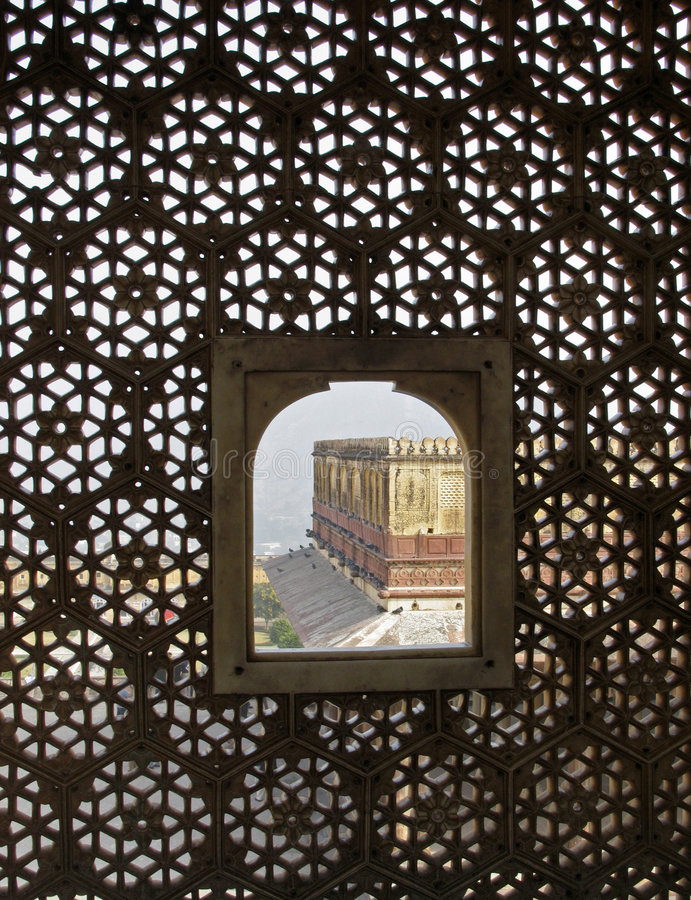 Download India - vista do harem imagem de stock. Imagem de palácio - 111259