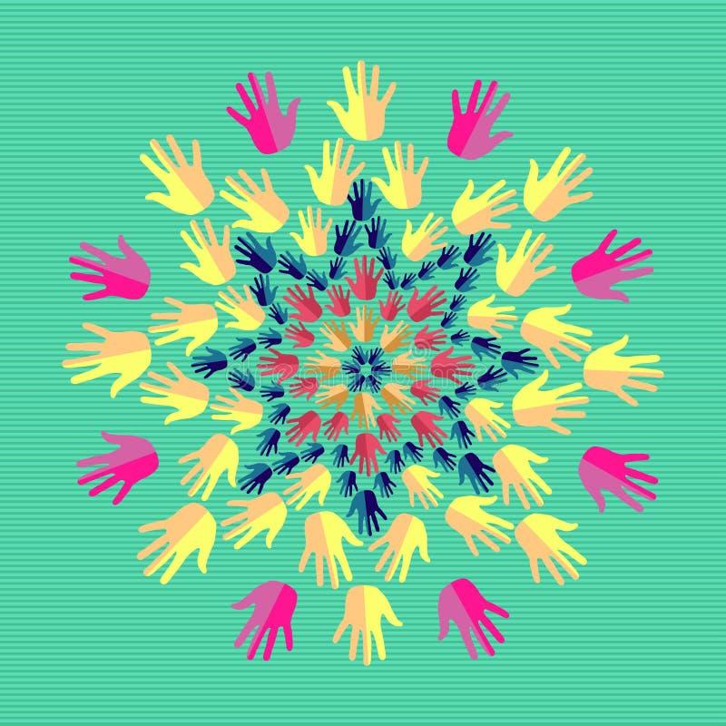 Download India yoga mandala stock vector. Image of folkloric, fanciful - 32018866