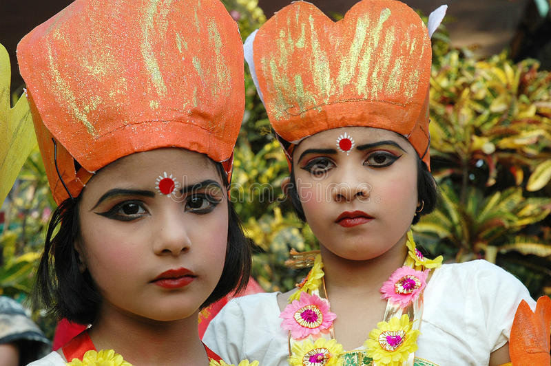 Indian Adolescents Dancer Editorial Stock Photo