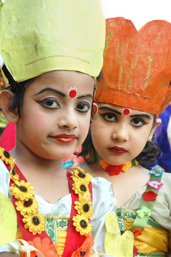 Indian Adolescents Dancer