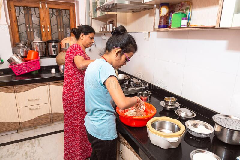 509 Indian Kitchen Mother Photos Free Royalty Free Stock Photos From Dreamstime