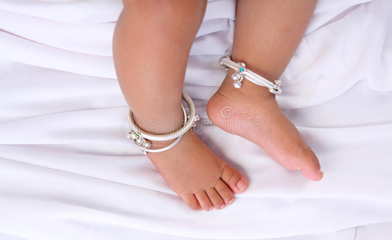 Indian Baby Feet Stock Image Image Of Child Cute