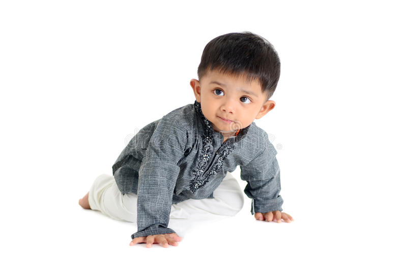 Indian baby stock photo