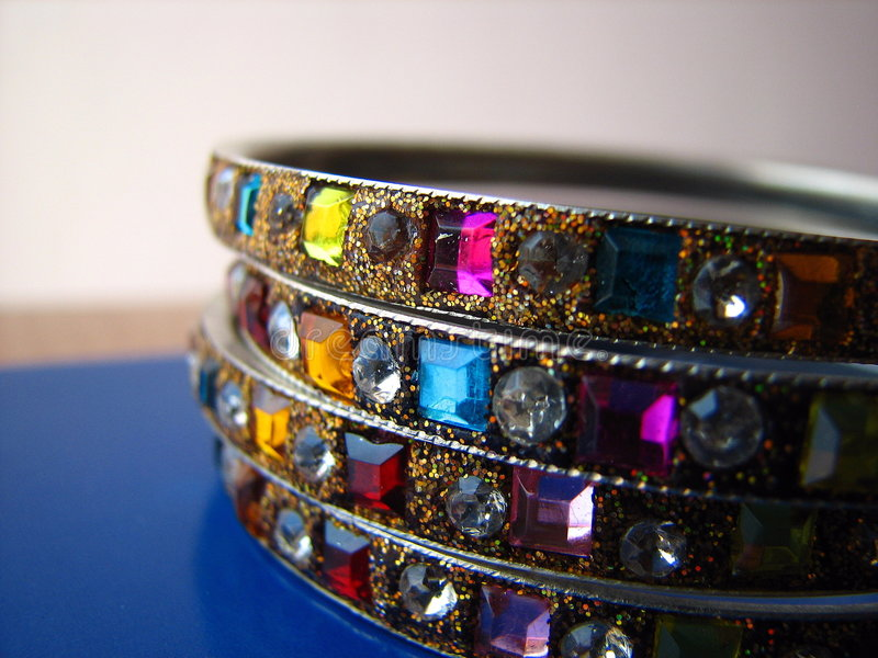 Indian Bangles royalty free stock image