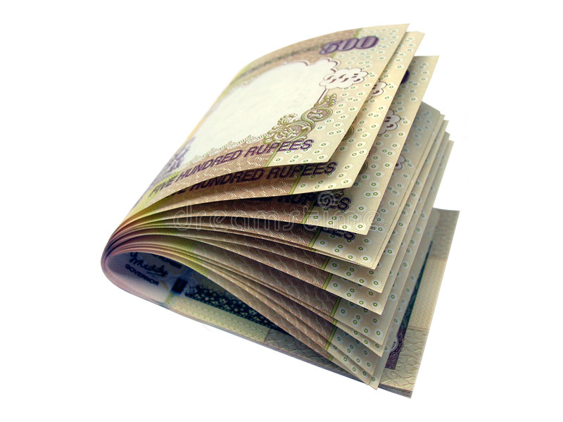 Download Indian Bank Note-INR 500 stock image. Image of rupees - 4688581