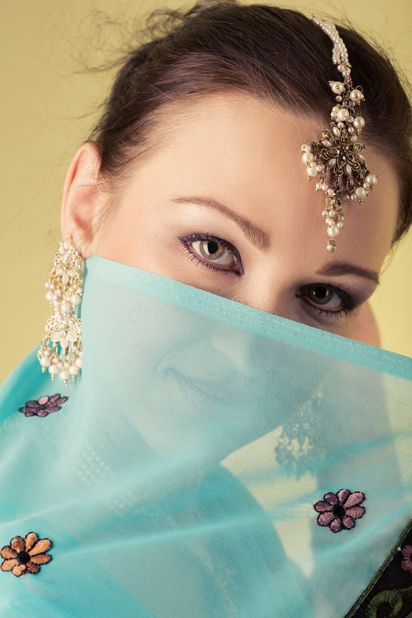 Indian beautiful woman stock photos