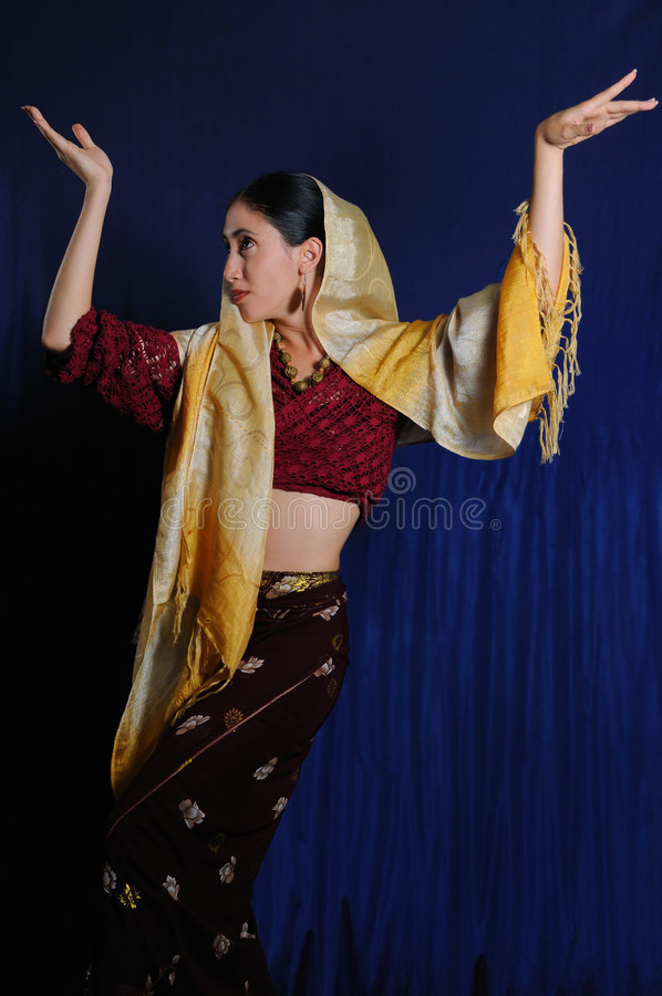 Download Indian beauty stock photo. Image of beautiful, arms, dance - 5918814