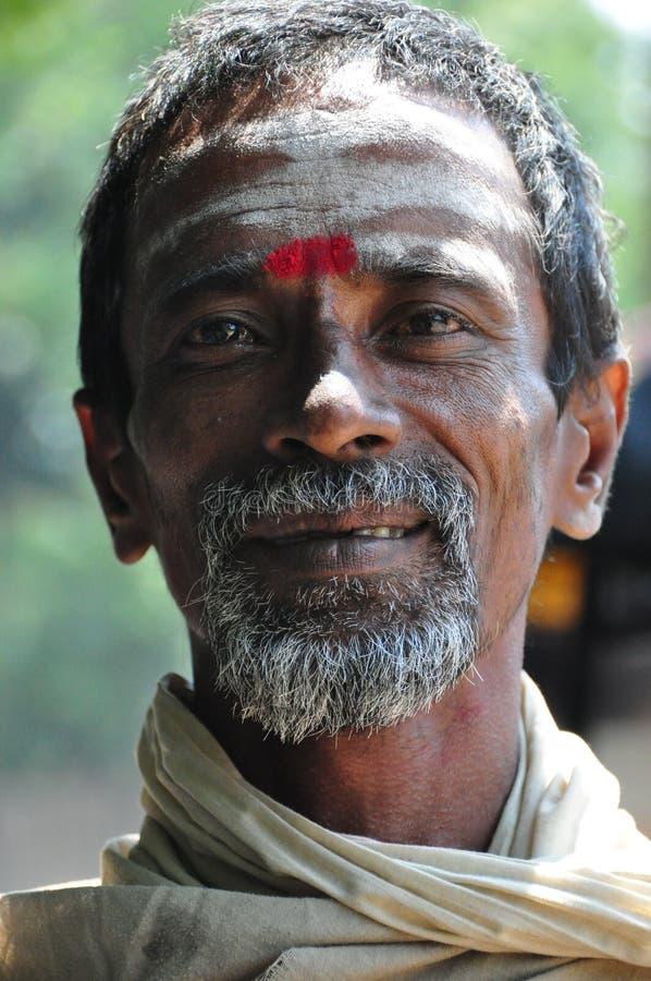 Indian Beggar stock photo