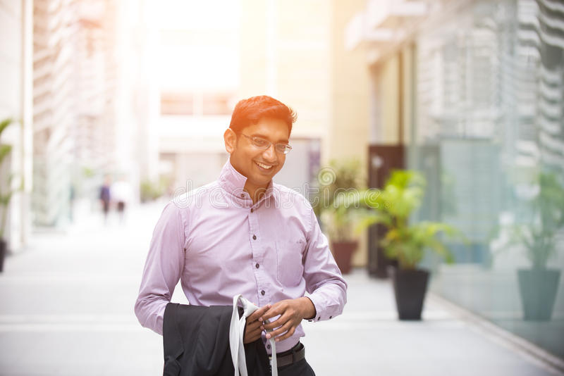 Indian business male royalty free stock image