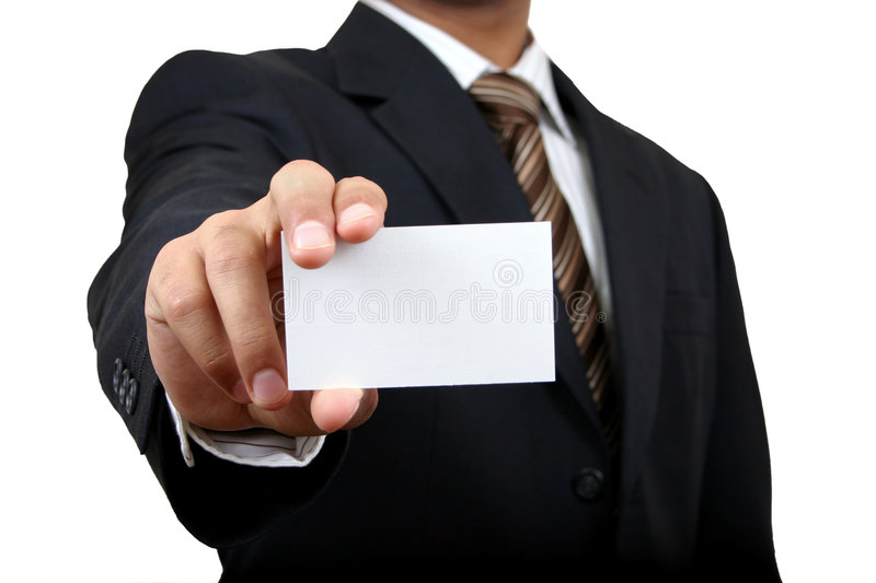 Indian business man. stock photography