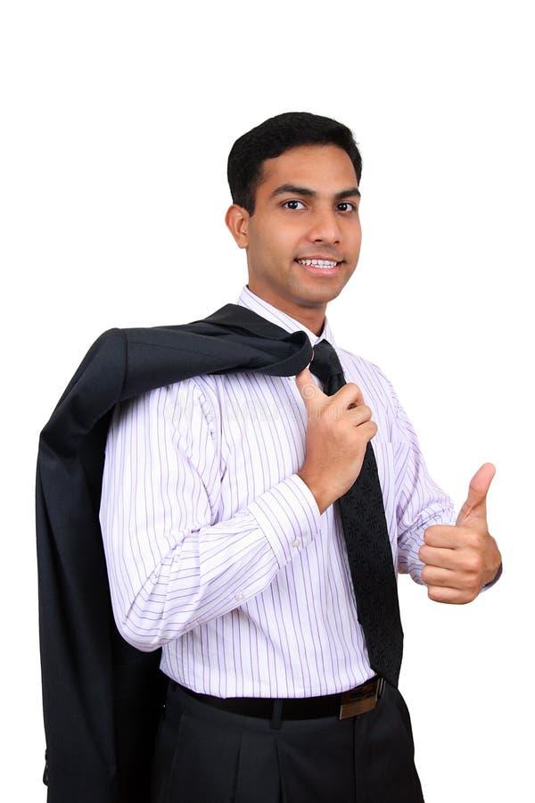 Indian business man stock image