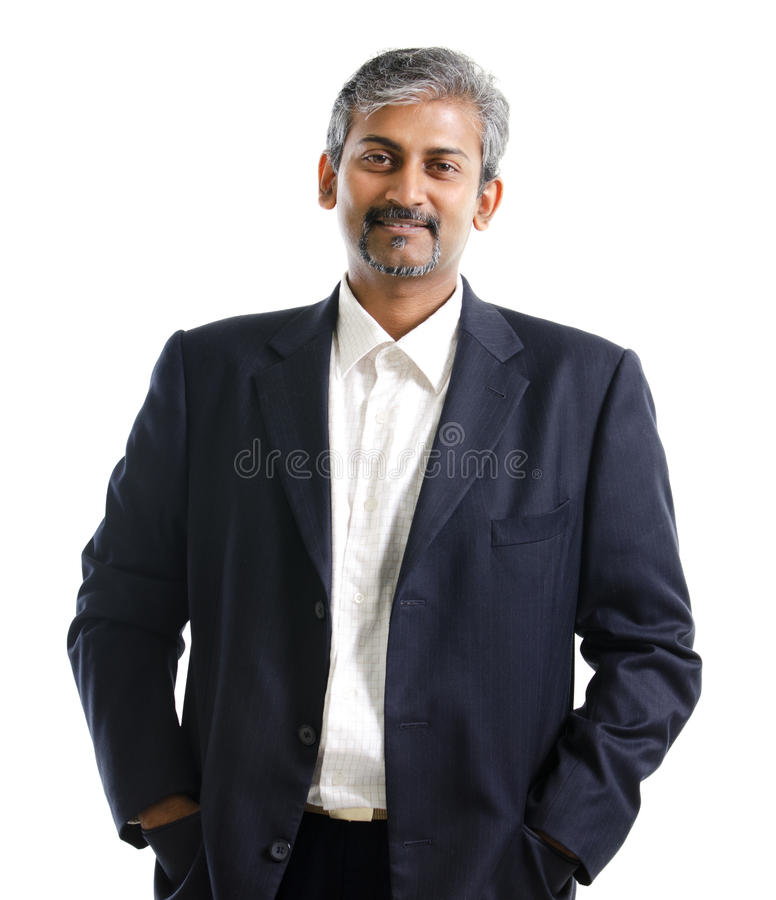 Indian businessman royalty free stock photography