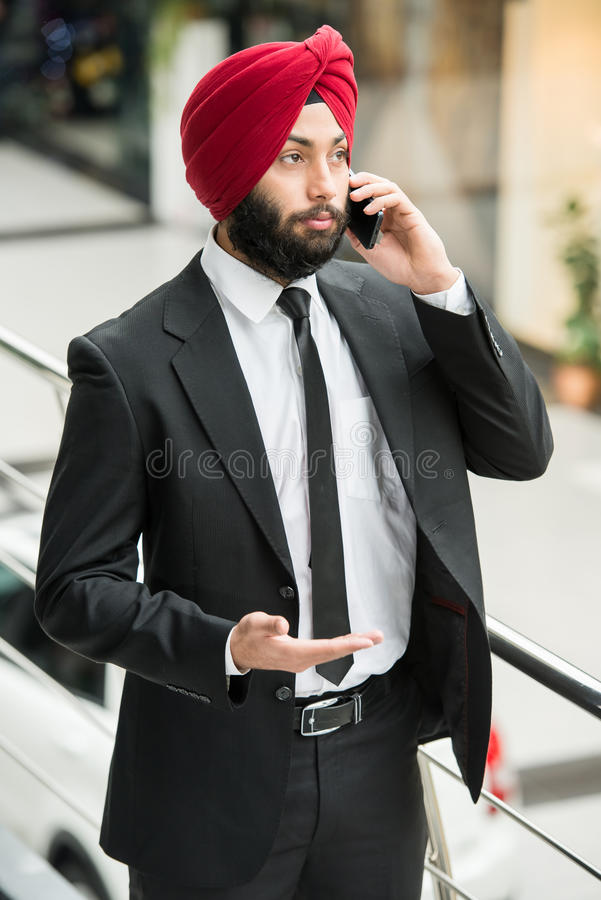 Free Indian Businessman Stock Photography - 48979582