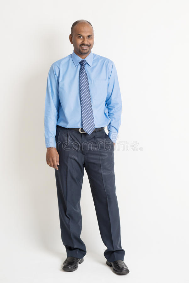 Indian businessman stock image