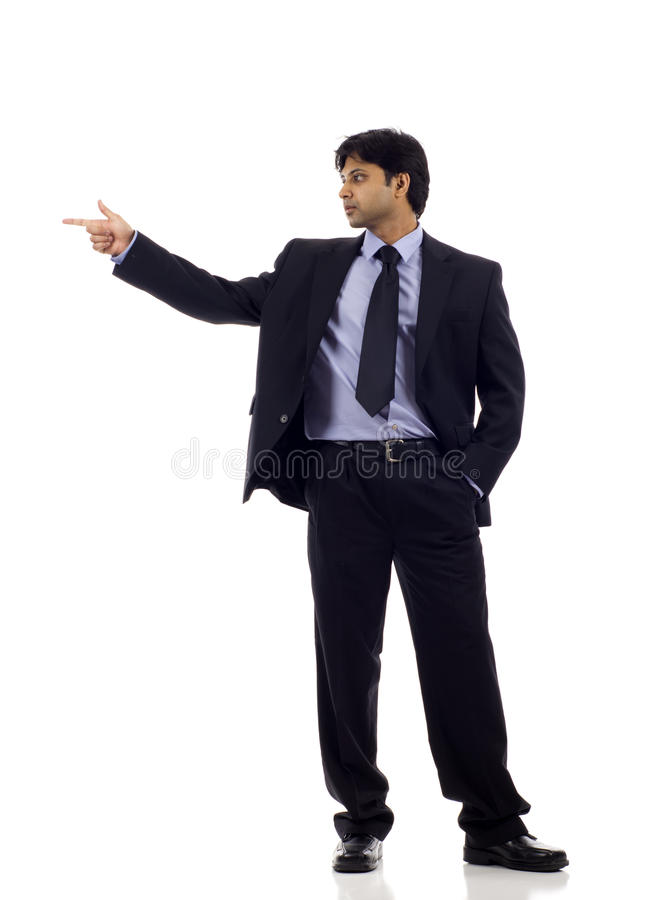 Download Indian Businessman Pointing Stock Photos - Image: 19382423