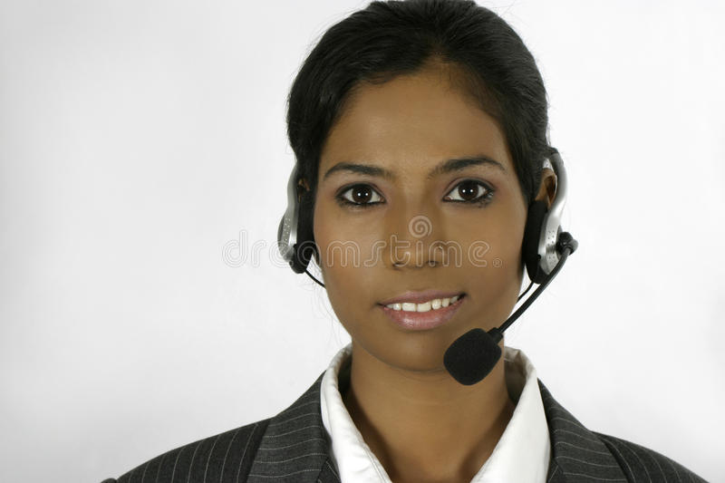 Download Indian Call Centre Executive Stock Photo - Image: 14388714