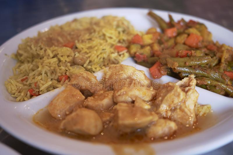 Indian chicken dish royalty free stock image