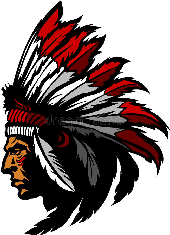 Download Indian Chief Mascot Vector Logo Stock Photos - Image: 18971093