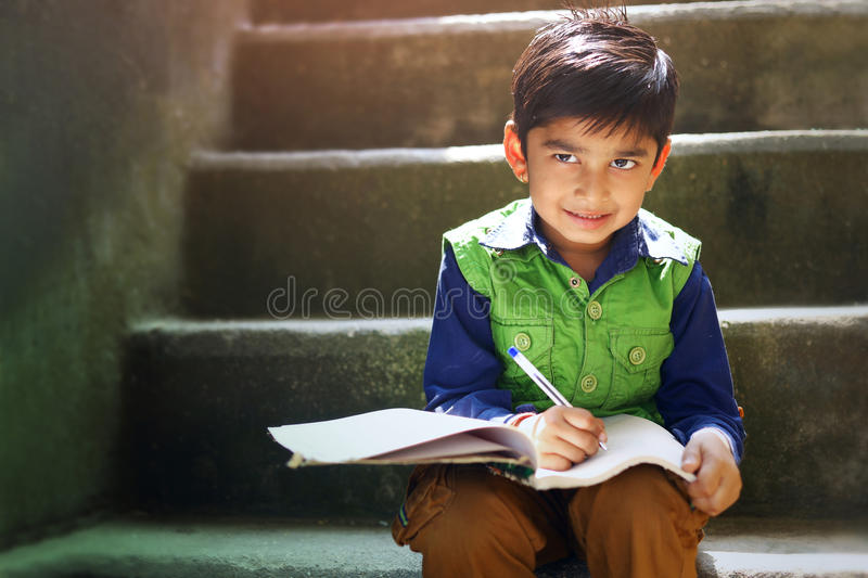Indian child royalty free stock photography