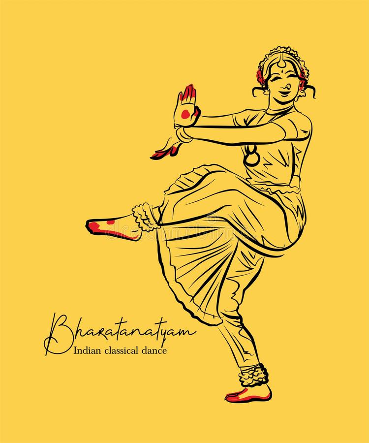 Classical Indian Dance Stock Illustrations 584 Classical Indian Dance Stock Illustrations Vectors Clipart Dreamstime