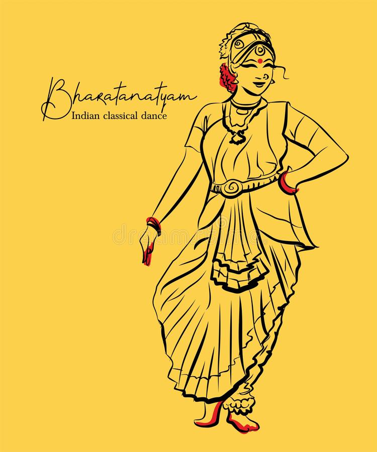 Bharatanatyam Stock Illustrations 206 Bharatanatyam Stock Illustrations Vectors Clipart Dreamstime
