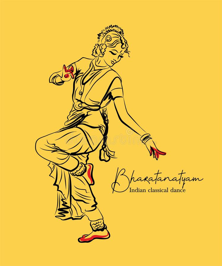Indian Classical Dance Stock Illustrations 584 Indian Classical Dance Stock Illustrations Vectors Clipart Dreamstime