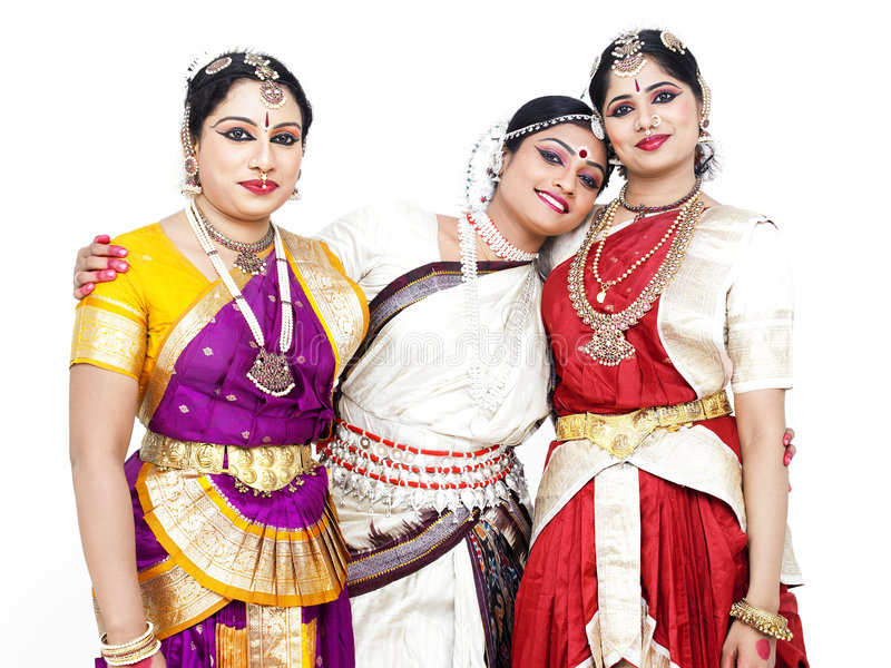 Download Indian Classical Female Dancers Royalty Free Stock Photos - Image: 7384528