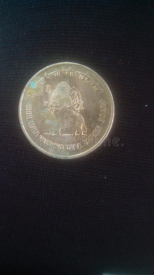 Indian coin royalty free stock photography