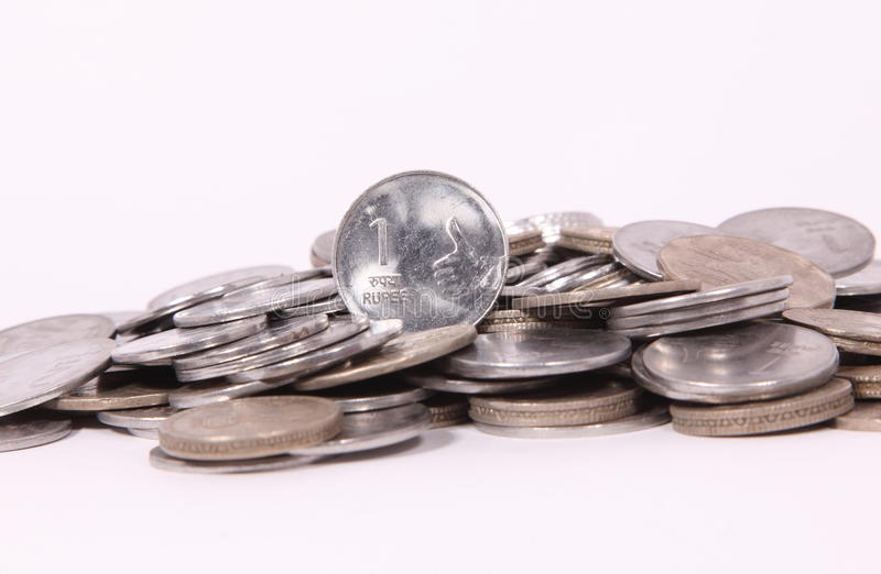 Download Indian Coins stock image. Image of heap, economy, financial - 27081695