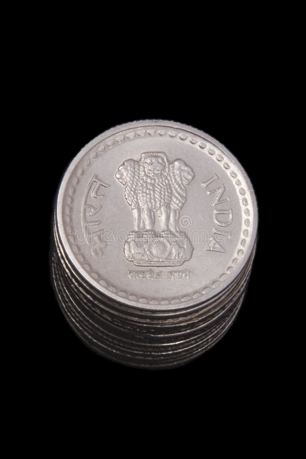 Indian Coins Royalty Free Stock Image