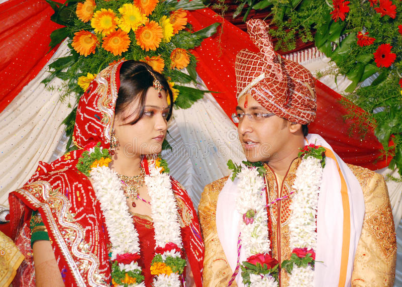 Indian couple royalty free stock images