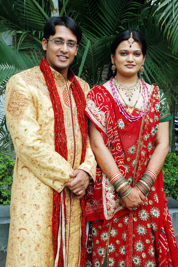 Indian Couple stock photography