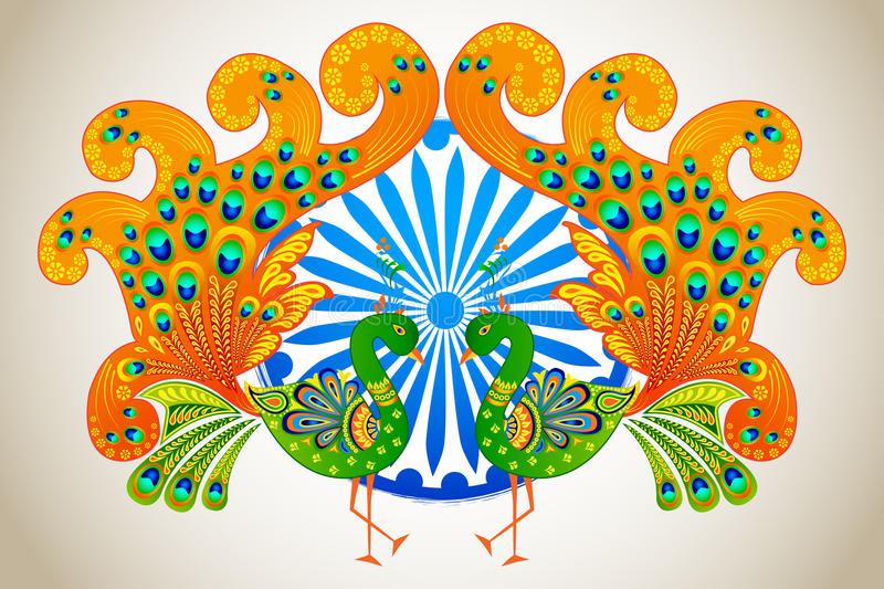 Indian Culture royalty free illustration