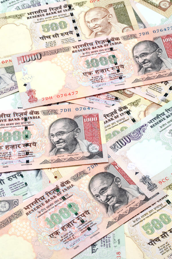 Download Indian Currency Notes Stock Image - Image: 25299181
