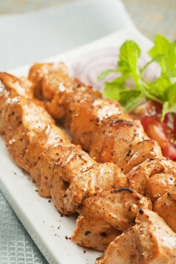 Download Indian Curry Chicken Tikka Vertical Stock Image - Image: 25485819