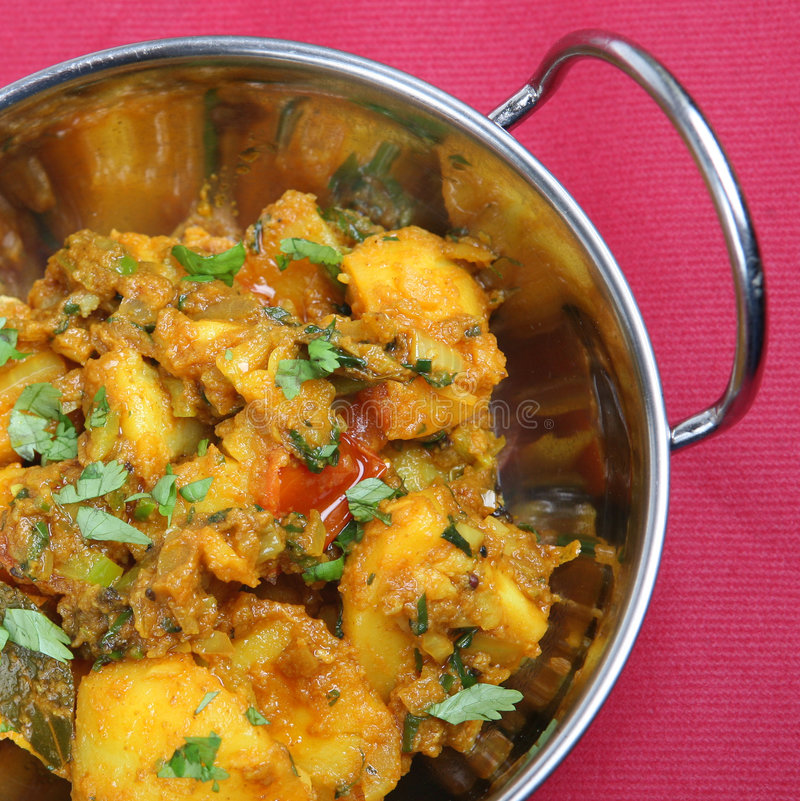 Indian Curry Dish stock photography