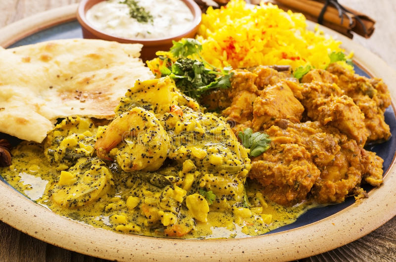 Indian Curry royalty free stock image