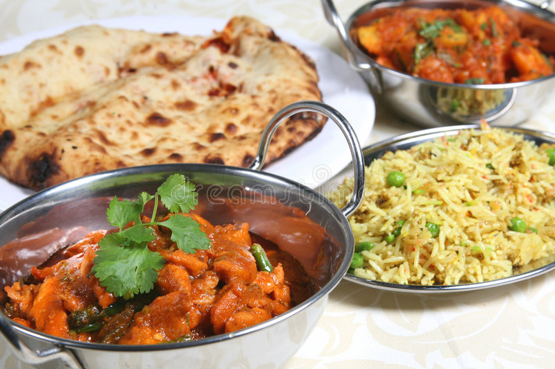Download Indian Curry Meal Food stock photo. Image of curries, keema - 3076686