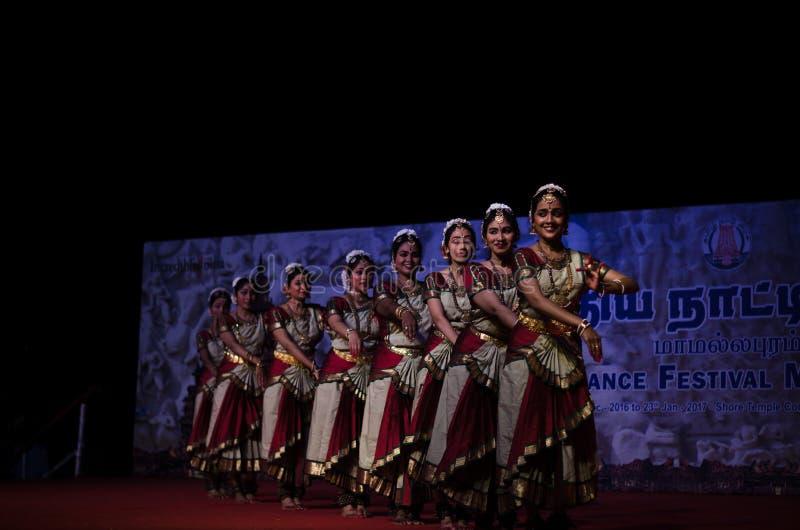 Indian Dance Festival, Mamallapuram 2016-17 stock photos