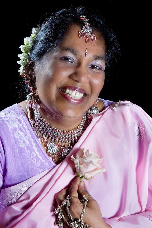 Indian de sorriso foto de stock royalty free