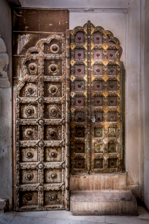 Indian Doors royalty free stock photography