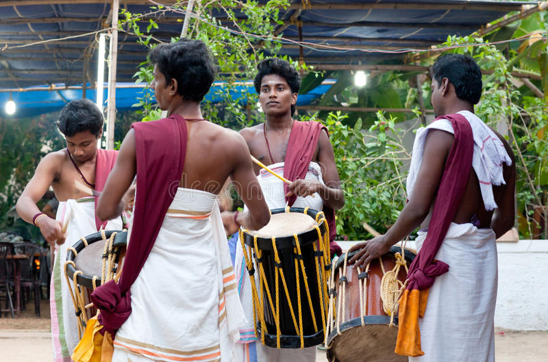 Indian drummers royalty free stock image