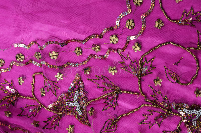 Indian fabric royalty free stock photography