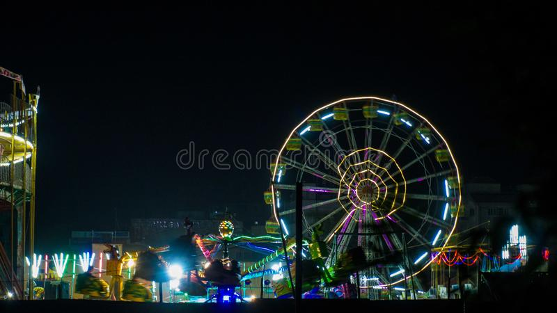 Indian fair light royalty free stock photography