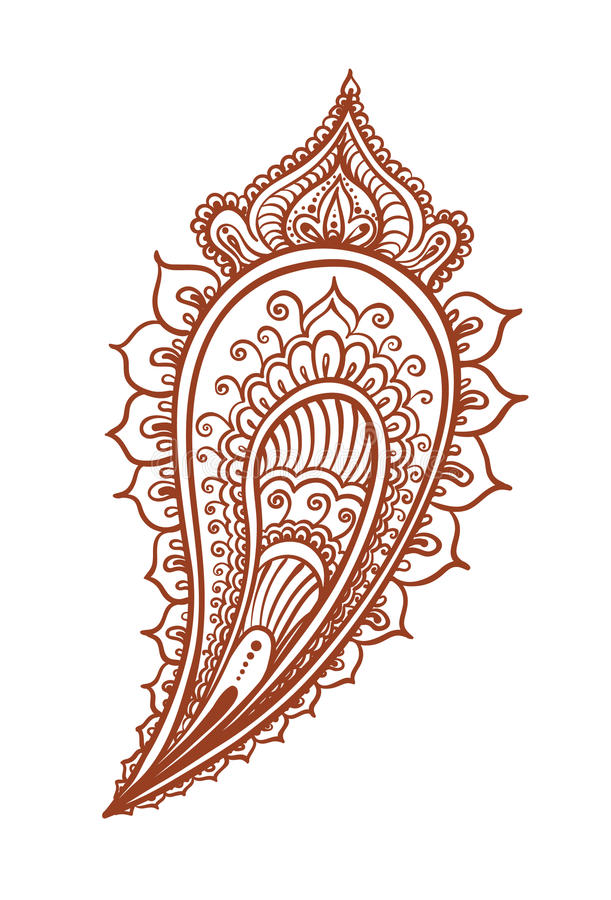 indian feather decorative eastern henna design mehendi ethnic rh dreamstime com henna vector background henna vector art free