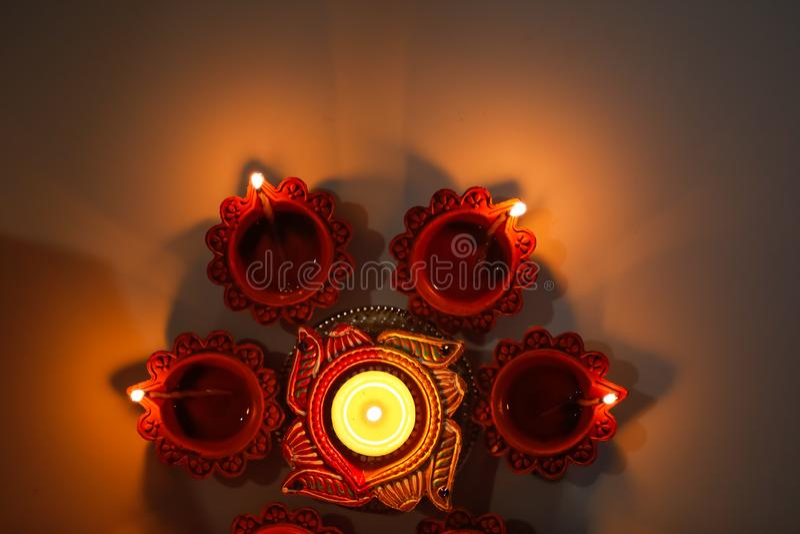 Indian Festival Diwali , Diwali lamp royalty free stock photography