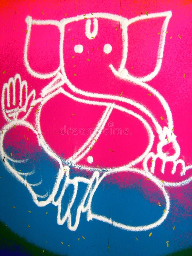 Free Indian Floor Art Rangoli Stock Image - 7202341
