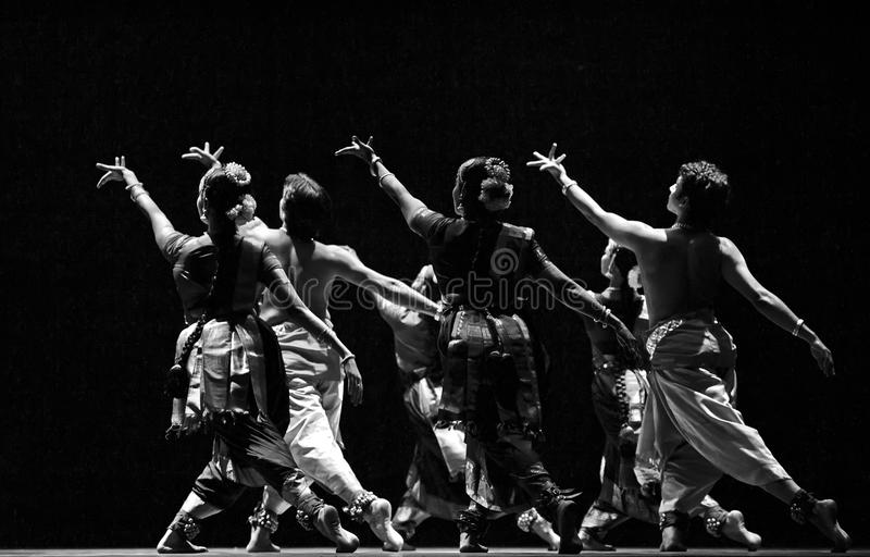 Indian Folk Dancers Editorial Stock Image