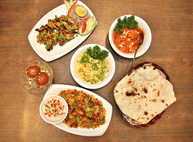 Indian food. Product photography. Photo taken on: 27th June 2015 stock photo